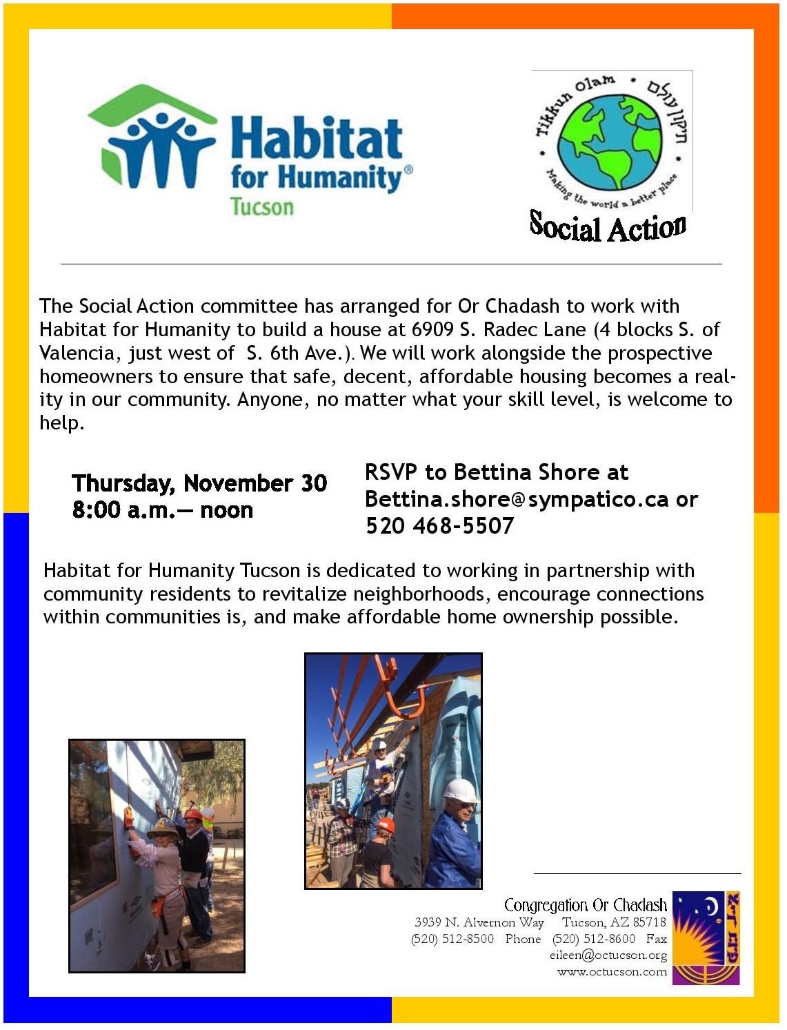 11.30.17 Habitat for Humanity