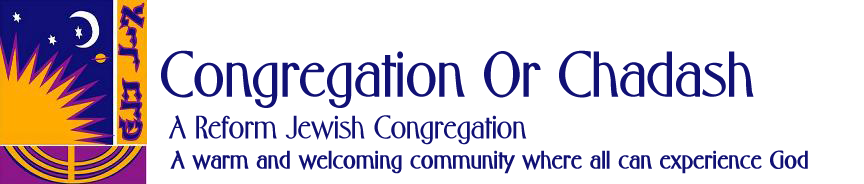 Taste of Or Chadash Open House @ Congregation Or Chadash