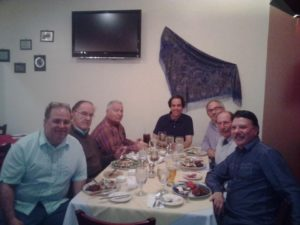 Men's Night Out at Kalina Russian Restaurant - February 2015