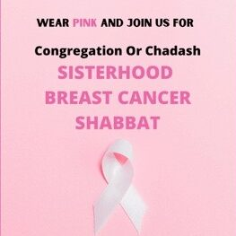 2020 Breast Cancer Shabbat